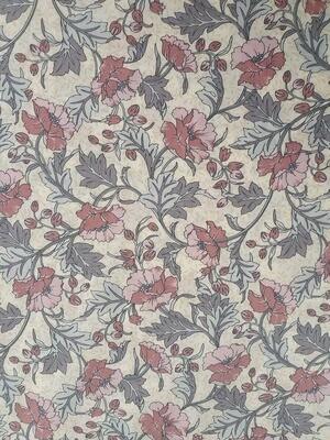 Betty- 100% Pima Cotton Lawn - Pinks