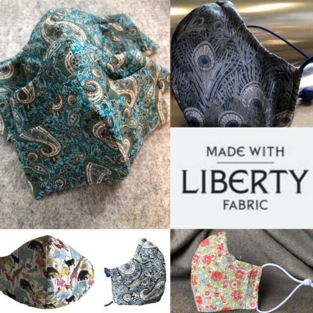 Liberty Tana Lawn Face Mask