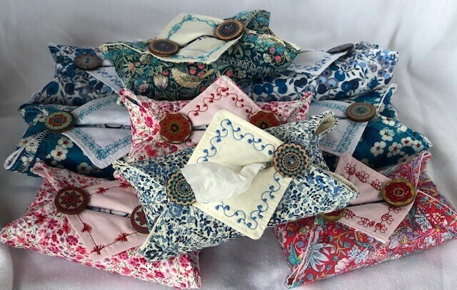 Liberty Tana Lawn Tissue holder