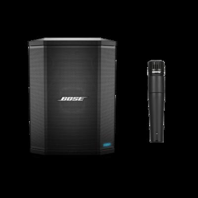 Bose Pro S1 Pro System + Shure SM57 Microphone [Online Exclusive Bundle]