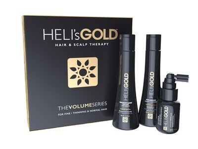 Heli's Gold Volume Series Travel Kit - For Fine, Normal Thinning Hair