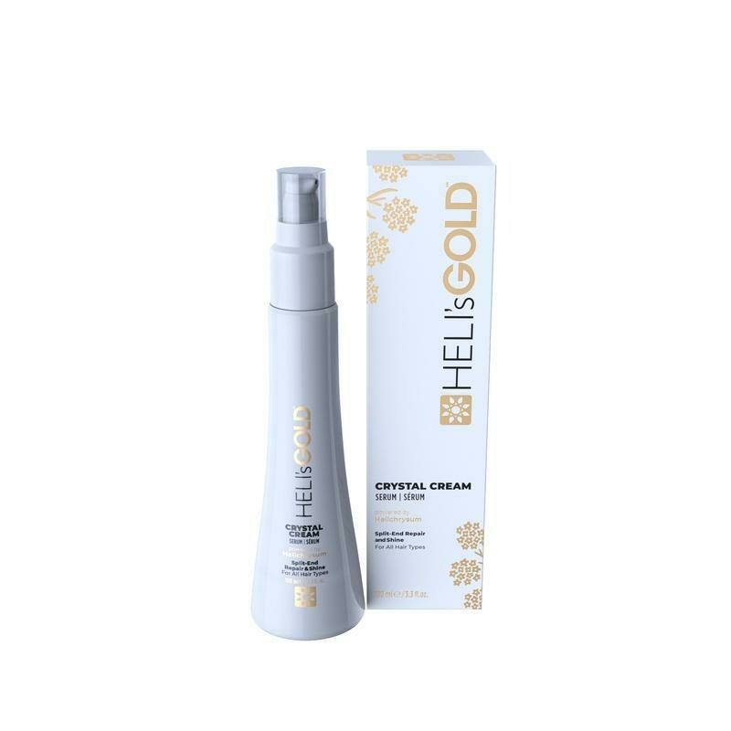 Heli's Gold Crystal Cream Hair Serum 100ml