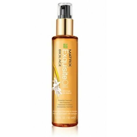 Matrix Biolage Exquisite Oil Moringa Oil Blend Protective Treatment
