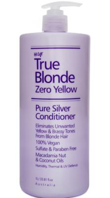 Hi Lift True Blonde Zero Yellow Pure Silver Conditioner - 1 Litre