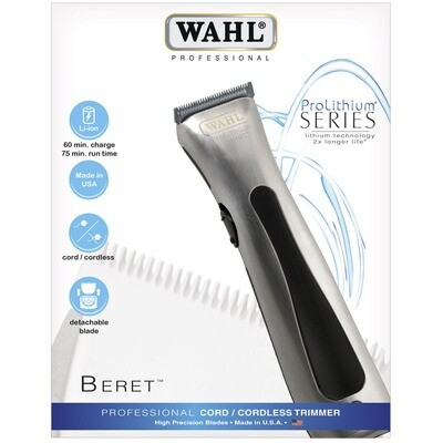 Wahl Professional Pro Lithium Beret - cord/ cordless trimmer