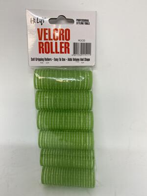 Hi Lift 20mm Velcro Roller Green (6 pack)