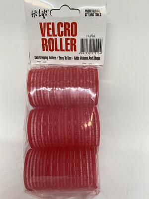 Hi Lift 36mm Velcro Roller Red (6 Pack)