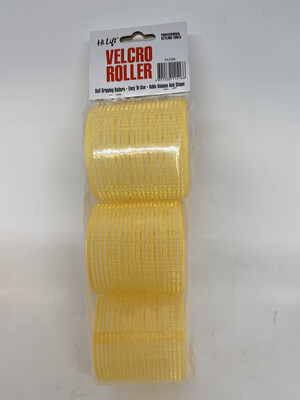 Hi Lift 66mm  Velcro Roller Yellow (6 Pack)