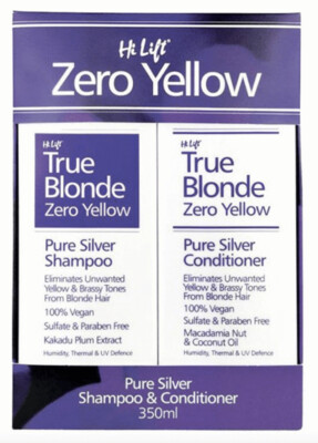 Hi Lift Zero Yellow Duo Pack - Shampoo & Conditioner