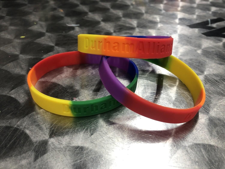 Pride Support Silicon Bracelets