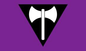 Lesbian Axe Pride Flags