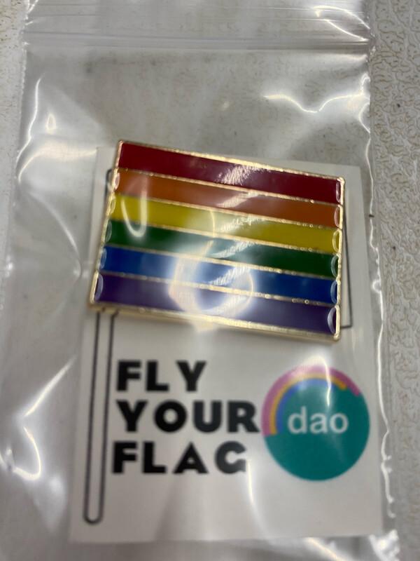 Large Pride Square - Enamel Pin