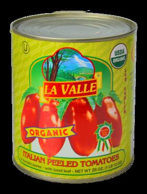 12/28oz La Valle's Organic Italian Peeled Tomato