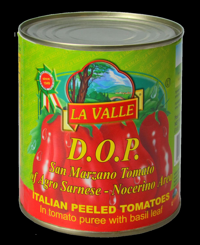 12/28oz La Valle's D.O.P. San Marzano Italian Peeled Tomato
