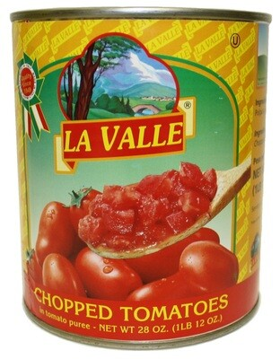6/28oz of La Valle's Chopped Tomato​