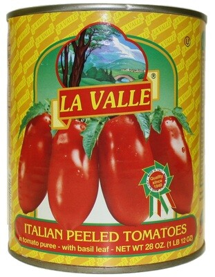 6/28oz of La Valle's Italian Peeled Tomato