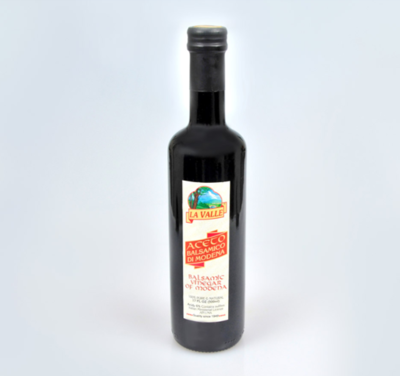 12/17oz Bottles of La Valle's Balsamic Vinegar