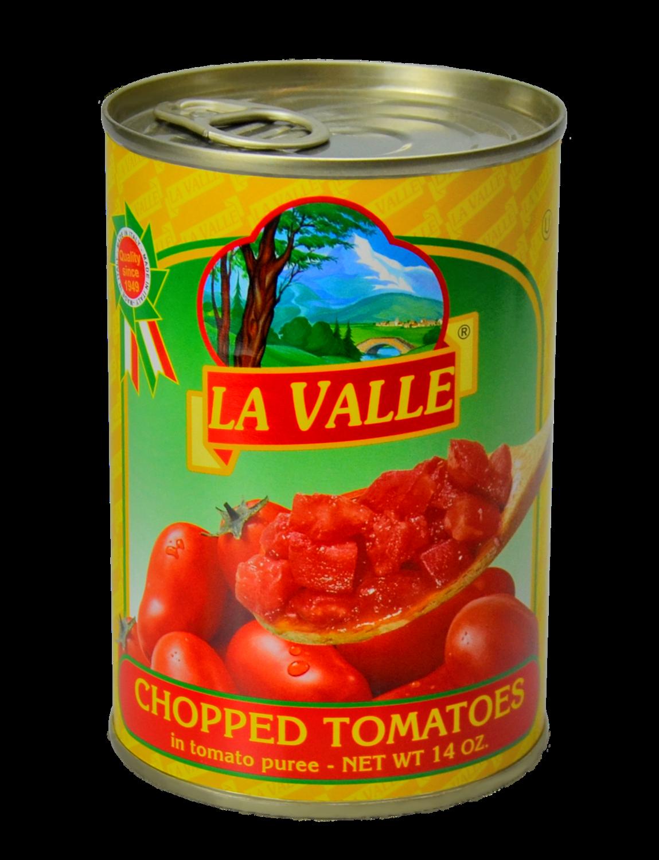 24/14oz La Valle's Chopped Tomato