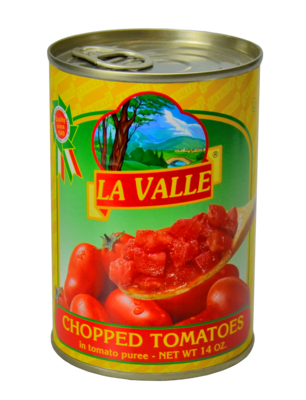 24/14oz La Valle's Chopped Tomato