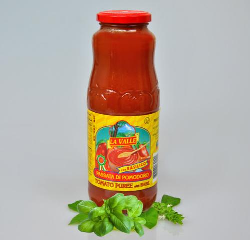 12/24oz La Valle's Tomato Puree