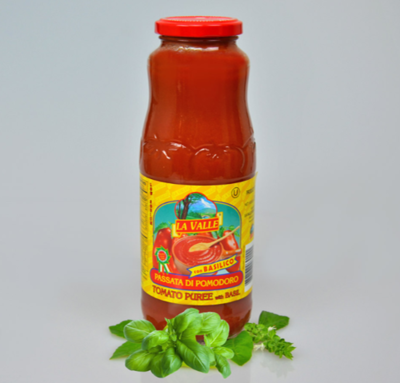 12/24oz La Valle's Tomato Puree
