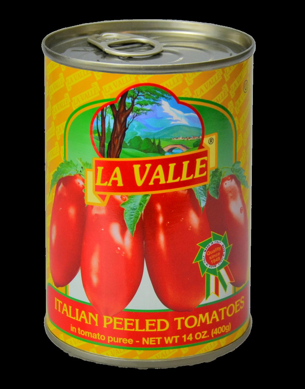 24/14oz La Valle's Peeled Tomato
