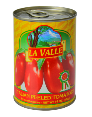 24/14oz La Valle's Peeled Tomato