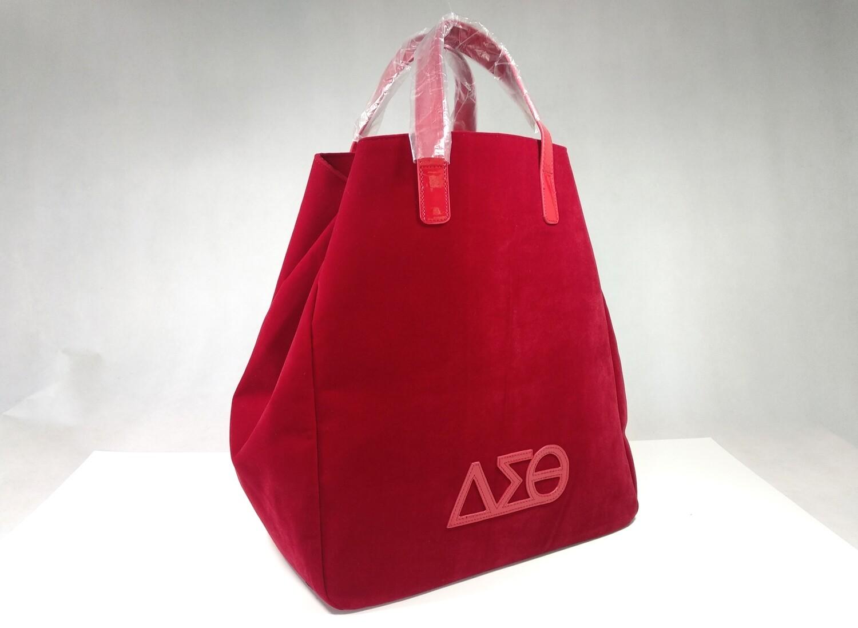 Tote Bag - Red Classy Velveteen