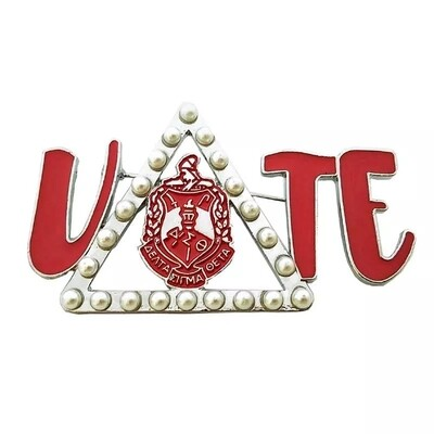 Triangle Shield Vote Lapel (BOGO-2)