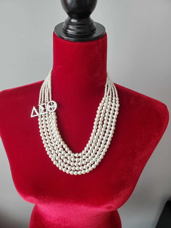 Necklace  Pearl Symbol