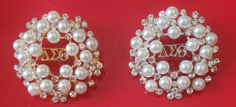 Pearl Cluster Symbol Lapel (BOGO-2)