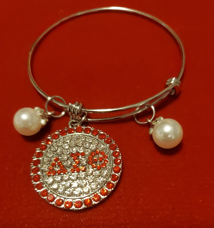 DST Slide Bling & Pearl Bracelet (Buy One Get Two)