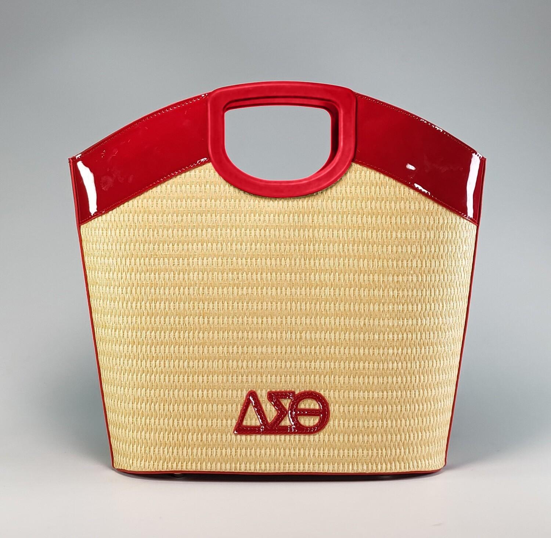 DST 2021 Straw Summer Handbag - Red Pre-Order - May 2021
