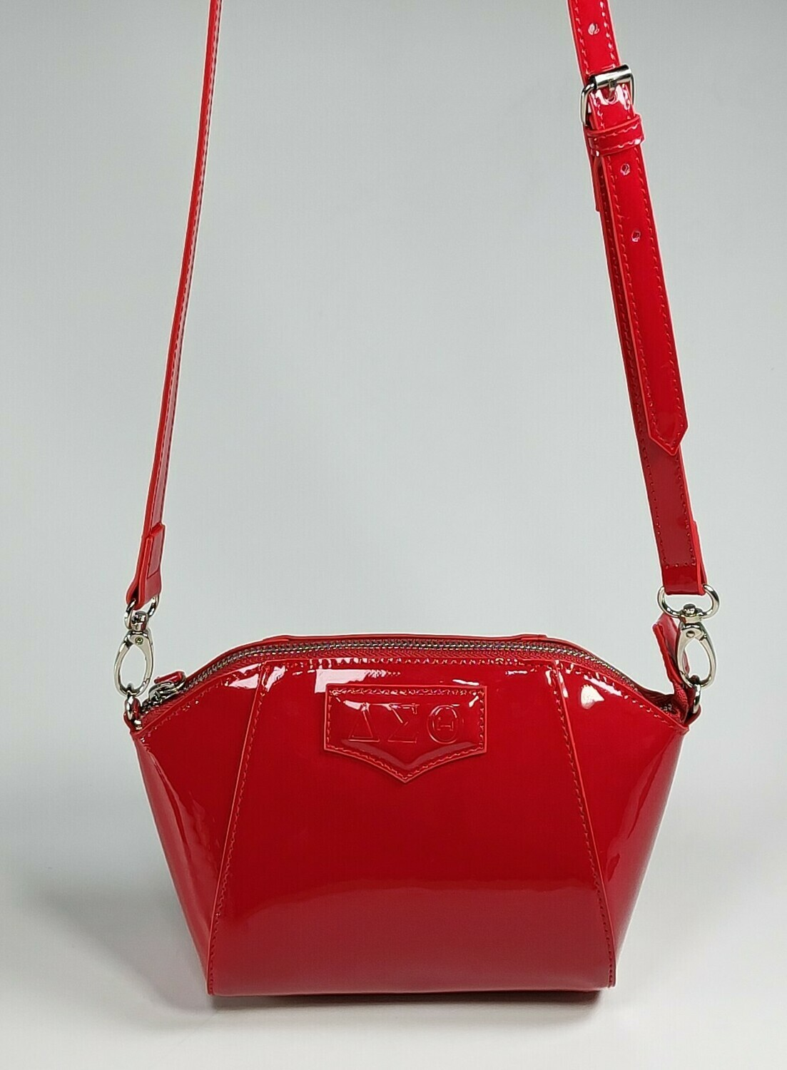 DST Red Patent Crossbody Bag - PRE ORDER Deliver Mid May 2021
