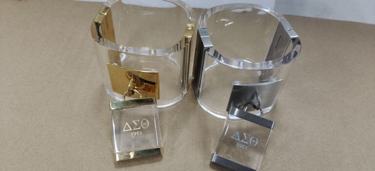 Bracelet - Clear Acrylic DST Charm