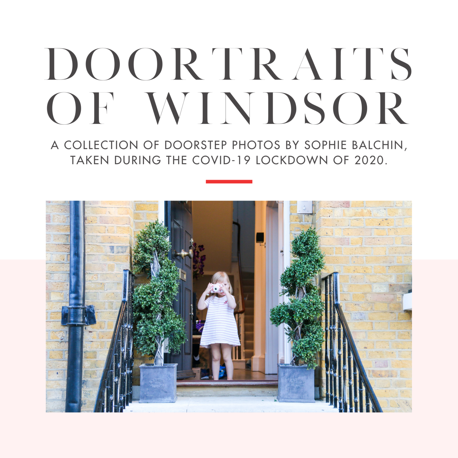 Doortraits of Windsor - Signed by Sophie Balchin