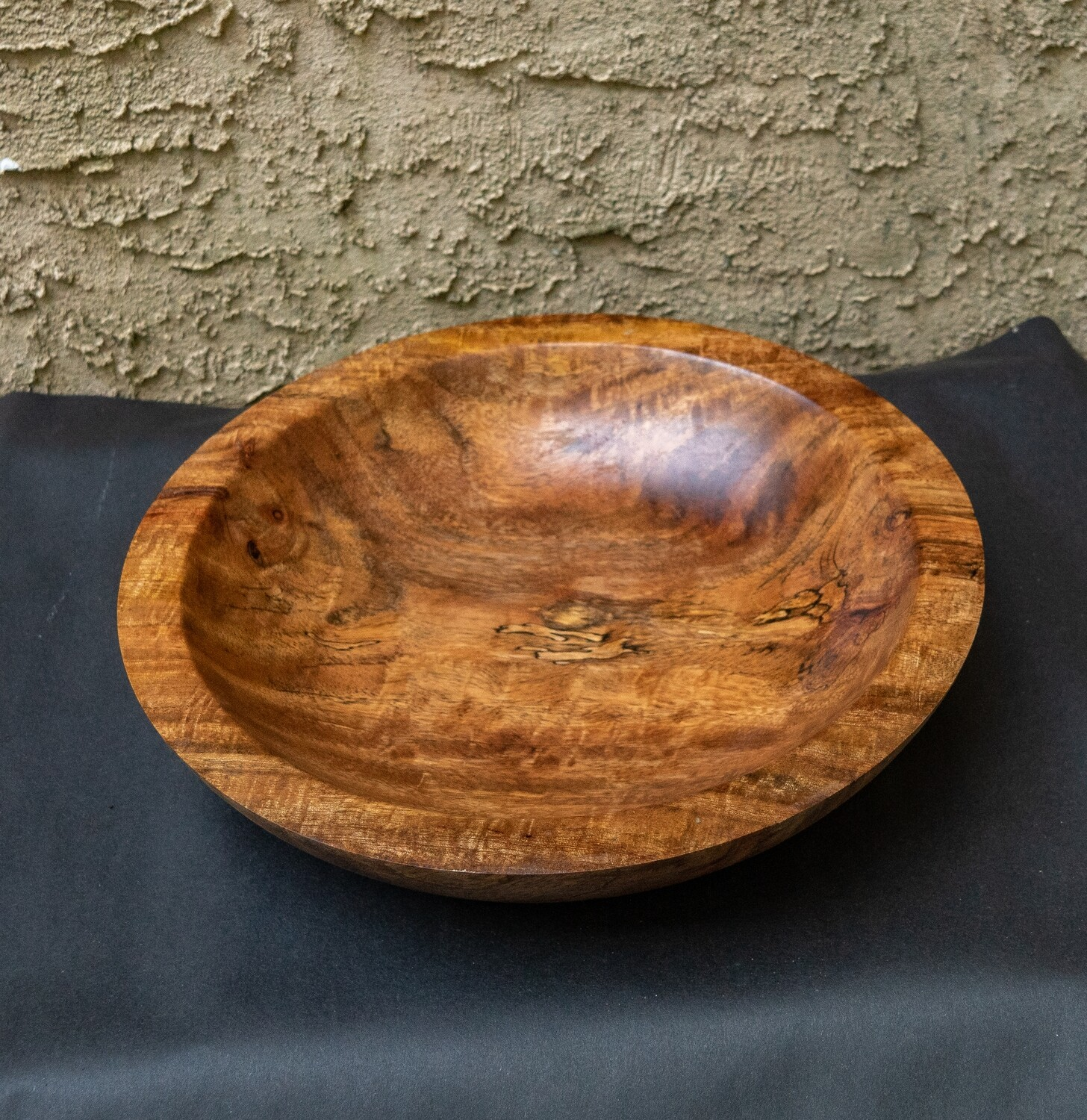 Unique Turned Mango Wood Bowl  Handmade Natural Home Décor Fruit  Candy  Cookie wooden Bowl 1562