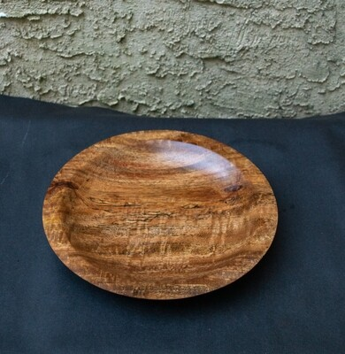Unique Turned Mango Wood Bowl  Handmade Natural Home Décor Fruit  Candy  Cookie wooden Bowl