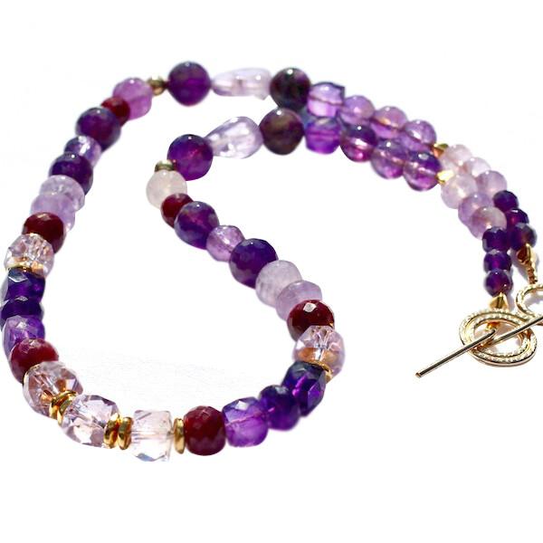 Amazing Violets Necklace