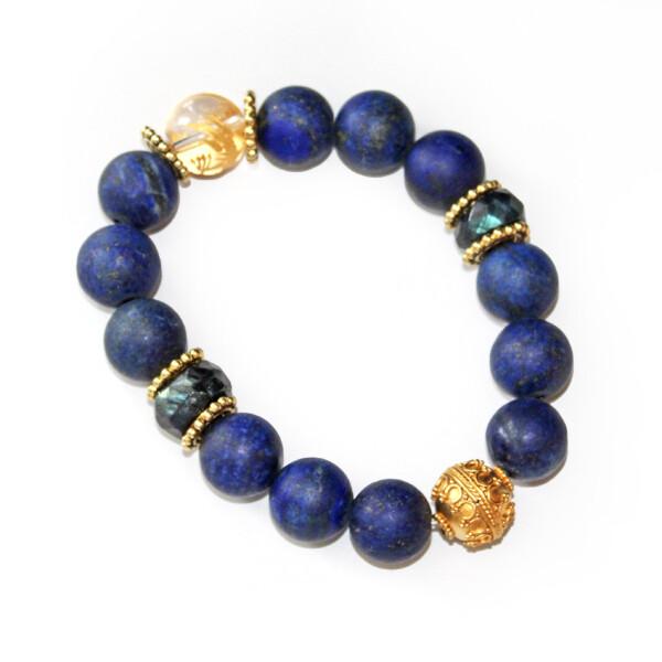 In Love With Lapis Bracelet