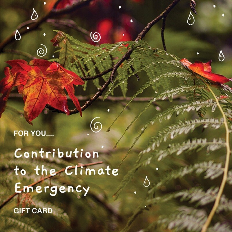 Contribution to the Climate Emergency £25 - £100