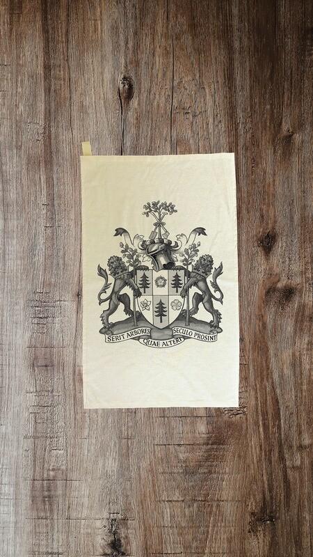 Tea Towel Featuring RFS Coat of Arms