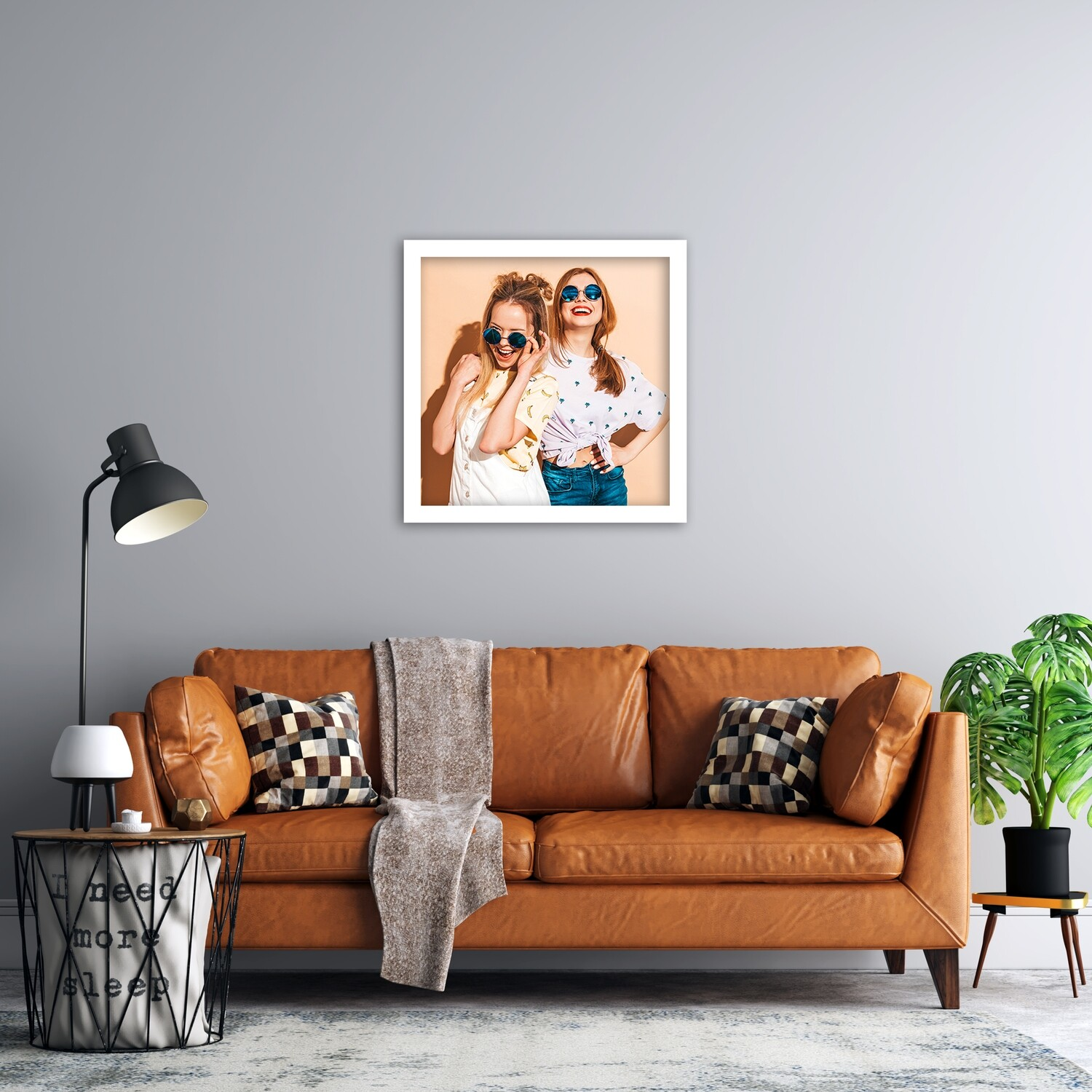 Framed Aluminium Wall Panel- Ready To Hang- 8 Options To Choose From