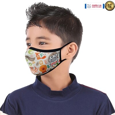 Comfortable, stylish, fashionable re-usable dust mask - Animal Soup