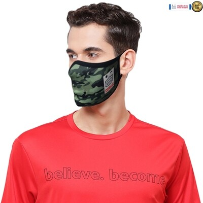 Comfortable, stylish, fashionable re-usable dust mask - Army Days