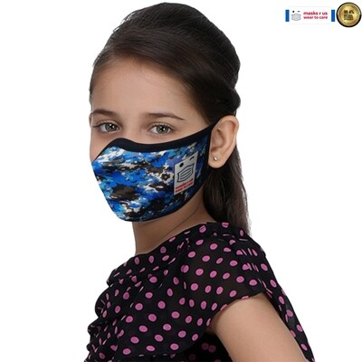 Comfortable, stylish, fashionable re-usable dust mask - Cool Camo