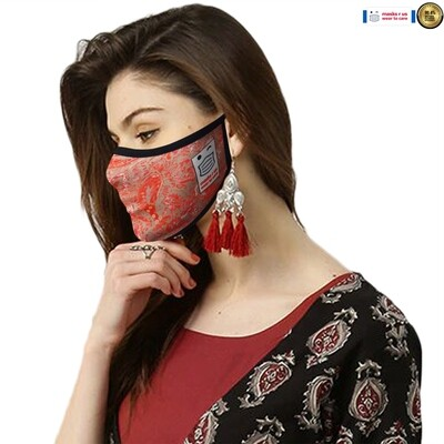 Comfortable, stylish, fashionable re-usable dust mask - Firestorm