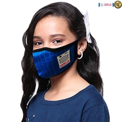 Comfortable, stylish, fashionable re-usable dust mask - Kelly