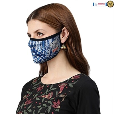 Comfortable, stylish, fashionable re-usable dust mask - Mosaic