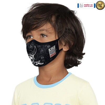 Comfortable, stylish, fashionable re-usable dust mask - Pirates R Us
